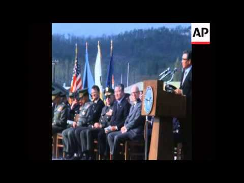 UPITN 12 11 78 CEREMONY FOR THE 497th TACTICAL FIGHTER SQUADRON IN SOUTH KOREA
