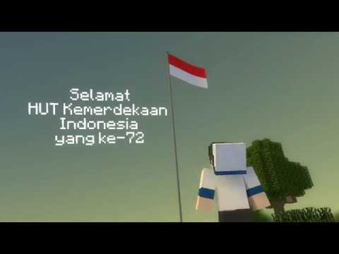 Happy Birthday Indonesia!!! XD [Minecraft Animation]