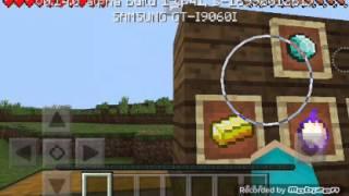 Minecraft pe Sade tanıtım Bolum 1 Item Frames