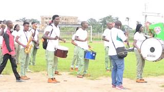NYSC BRIGADE BAND MEMBERS- LAGOS CORPERS