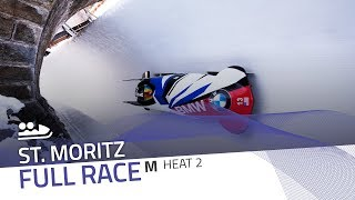 St. Moritz | BMW IBSF World Cup 2018/2019 - 2-Man Bobsleigh Heat 2 | IBSF Official