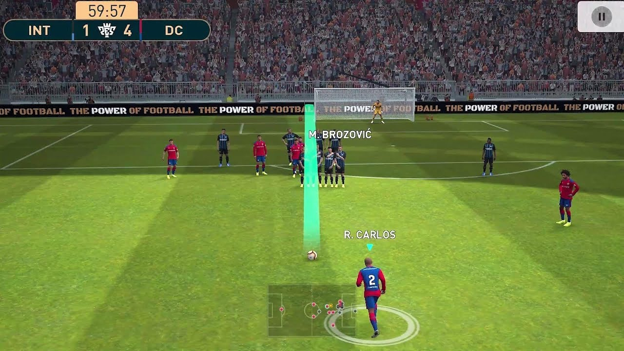 Pes Mobile 2019 / Pro Evolution Soccer / Android Gameplay #21