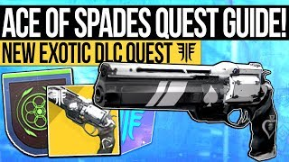 Destiny 2 | HOW TO GET ACE OF SPADES! Exotic Quest Guide, Gambit Kills Bug & PvP Kills (Forsaken)