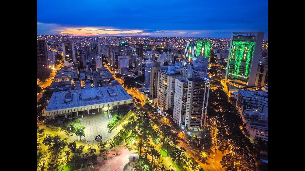 Drone Maicuts - Praça da Assembleia Belo Horizonte MG - YouTube