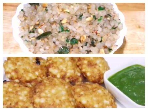 Navratri Special Recipes / Vart, Upwas Recipes/Sabudana Vada, Khichdi Recipe. Indian Recipes.
