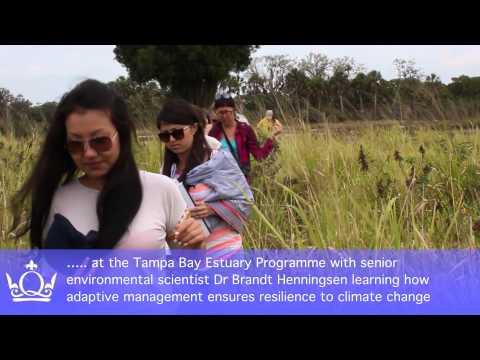Florida field class: Environmental Management Applications