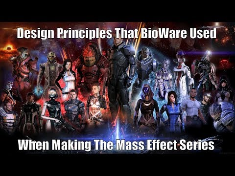 Design Principles That BioWare Used When Making The Mass Effect Series
