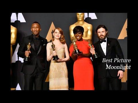 89th Academy Awards Oscar winners 2017