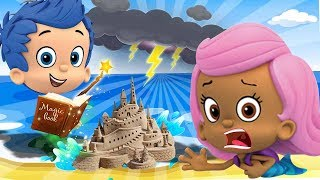 Bubble Guppies Gil & Molly Babies Loves The Kids Funny Story! Learn Colors with Finger Family #1