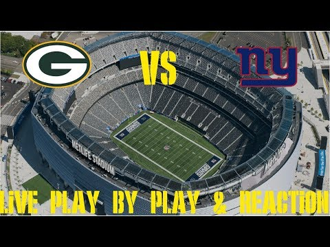 Packers Vs Giants Live Play By Play & Reaction