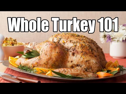 How to cook a MOIST and TENDER Turkey – Turkey Recipe