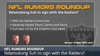 NFL Rumors: Ndamukong Suh To Raiders, Eric Decker Latest And Jets Drafting Saquon Barkley