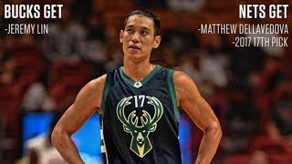 5 Possible Jeremy Lin Trades! - Starting with the Spurs? Bucks? Pelicans?