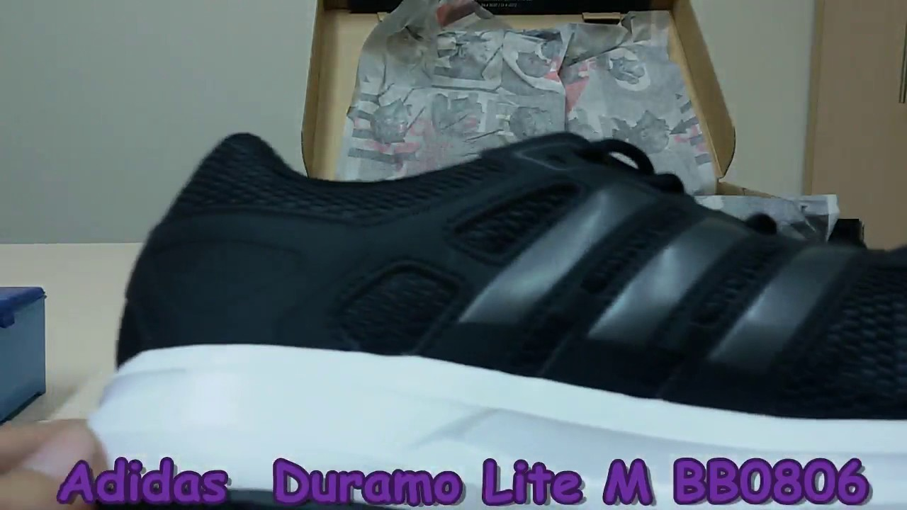 Unboxing Revisione Scarpe Bb0806 Adidas Duramo Lite M Bb0806 Scarpe Su Youtube 2b8358