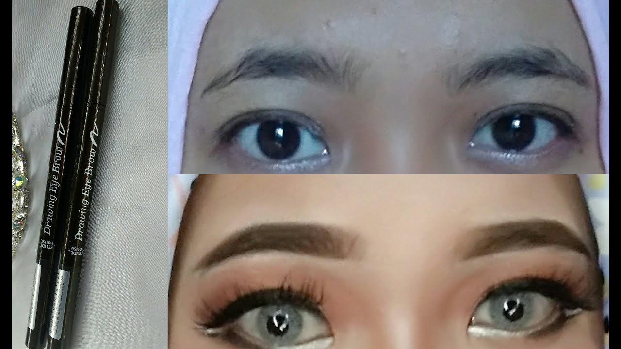 Review ETUDE HOUSE DRAWING EYEBROW First Impression Korean ...