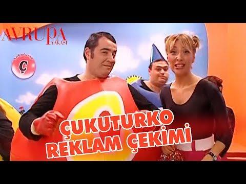 """Aslı Ve Volkan """"Çukuturko"""" Reklam Çekiminde - Avrupa Yakası"""