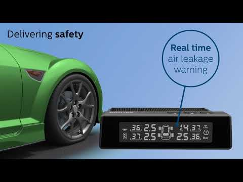 PHILIPS CAR ACCESSORIES - Safety Is Your Side With GoSure, Tire Pressure Monitoring System