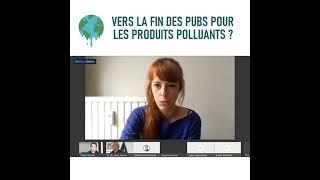 Vers la fin des pubs pour les produits polluants ? - 5 mai 2021