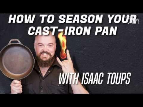 Make Your Cast-Iron Pan Last a Lifetime