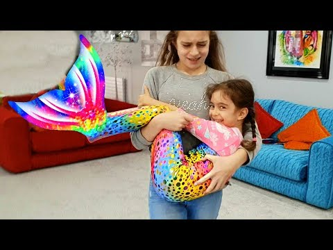 Magic Transform The Mermaid -Video for Kids #emilytube