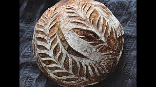 красивые узоры на хлебе