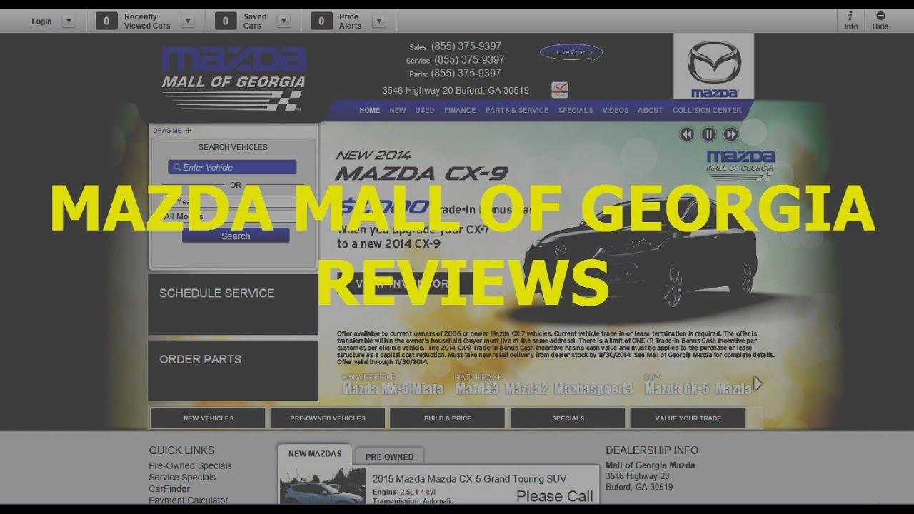 Mall Of Georgia Mazda (678) 359 4001   REVIEWS Buford, GA