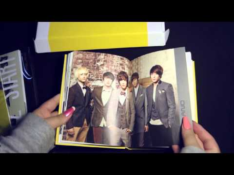FT Island - 2012 Official Season Greetings unboxing