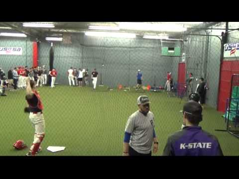 Premier Baseball's College Showcase - Pitching (behind catch