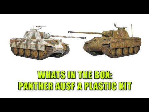 Unboxing The Bolt Action Panther AUSF. A Plastic Kit!
