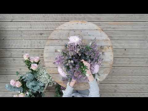 Des fleurs pour la fête des mamans...