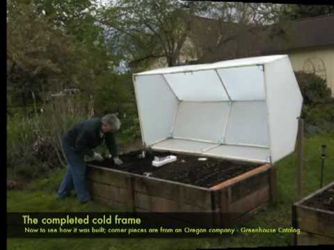 Building The Cold Frame Youtube