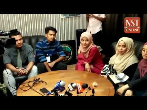 We are sorry, say youths who scaled Ipoh sign