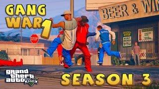 GTA 5 THUG LIFE #1 - GANG WAR BLOOD VS CRIPS | S3