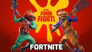 FORTNITE FOOD FIGHT |  New Mode | Update Ver 6.30 |