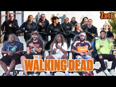 "The Walking Dead Season 7 Episode 16 ""The First Day Of The Rest Of Your Life"" Finale Reaction/Review"