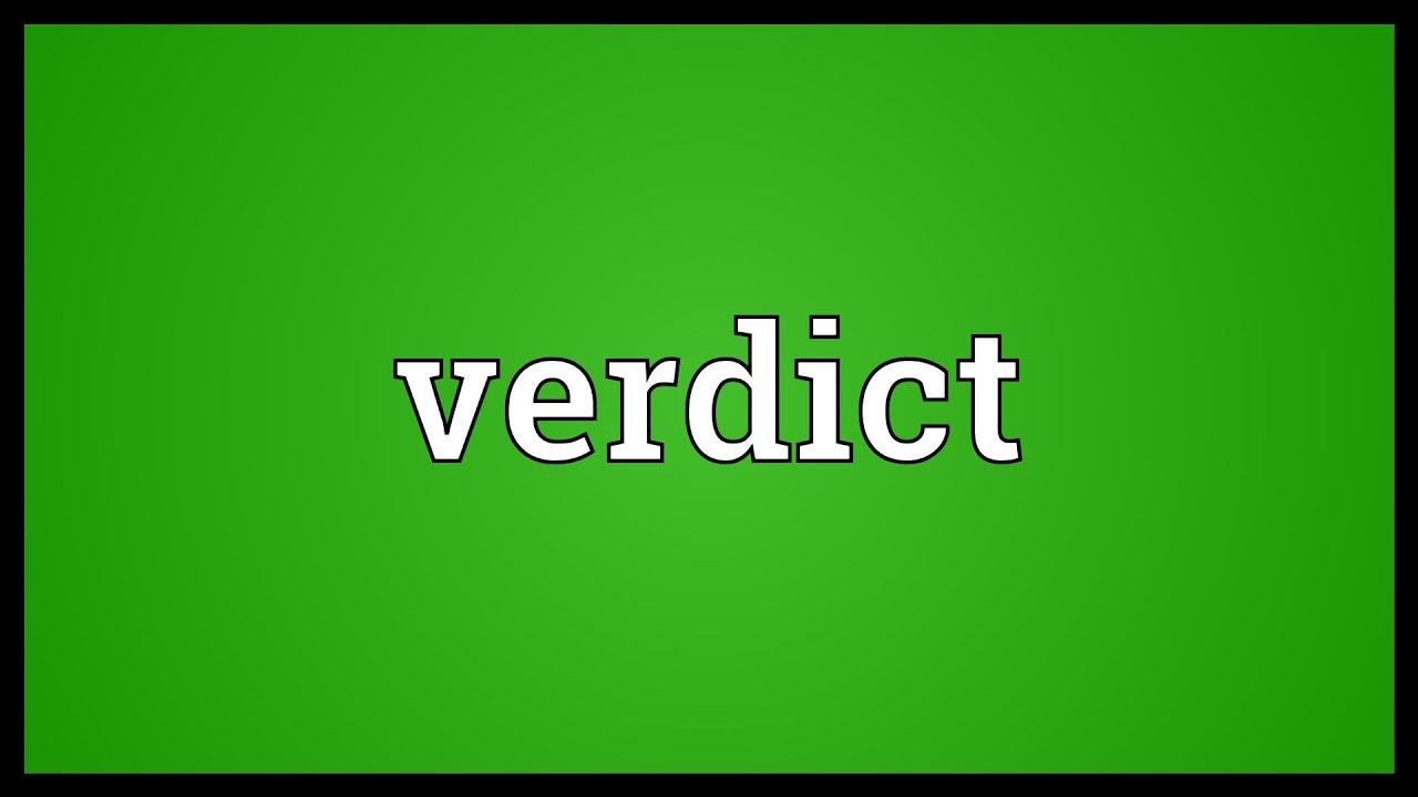 verdict meaning breadwinner
