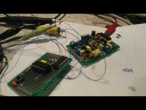 RF sine wave generator for synths