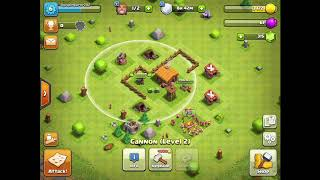 Playing a new game called Clash Of Clans #1 - Clash Of Clans