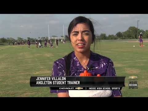 Angleton High School Sports Medicine Team is as Close as the Teams & Athletes They Take Care of