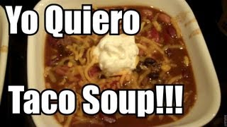 Quick And Easy Taco Soup -  Ninja Cooking System