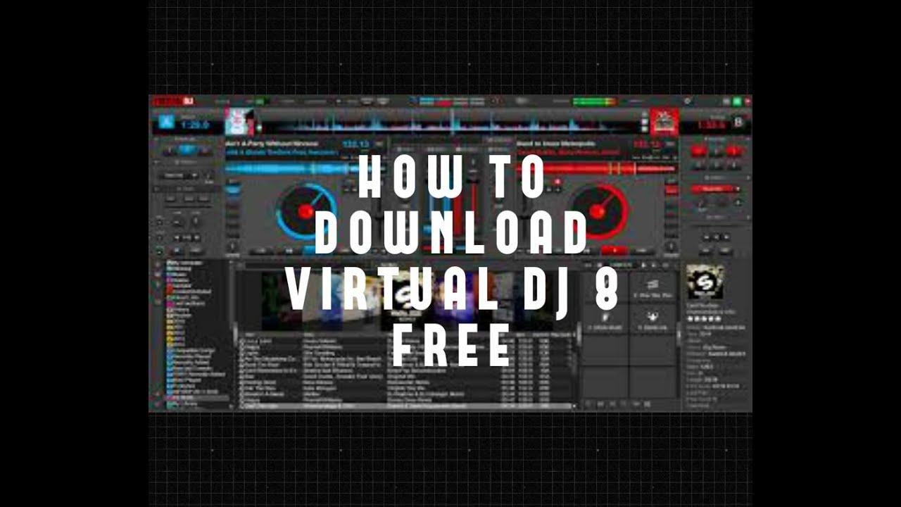 How To download Virtual Dj 8 free for MAC | 100% FREE 100% VIRUS FREE