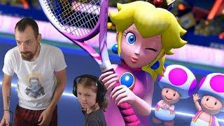 KIMBERLEY UND MARCEL IM TENNIS DOPPEL - Mario Tennis Aces Switch Gameplay Deutsch | EgoWhity
