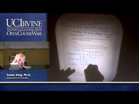 Chemistry 51A: Organic Chemistry. Lecture 3