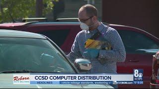 Gambar cover CCSD begins computer distribution at some schools