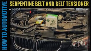 How to Replace the Serpentine Belt and Tensioner on a 2004-2013 3 Series BMW E90 with N51/N52 3.0L