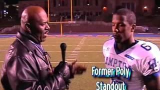 Rob Williams talks with Hampton's Ricardo Silva