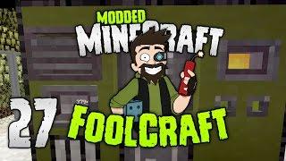 Minecraft: FOOLCRAFT | Custom WORKING SUPER Generator! | #27 | Modded Minecraft