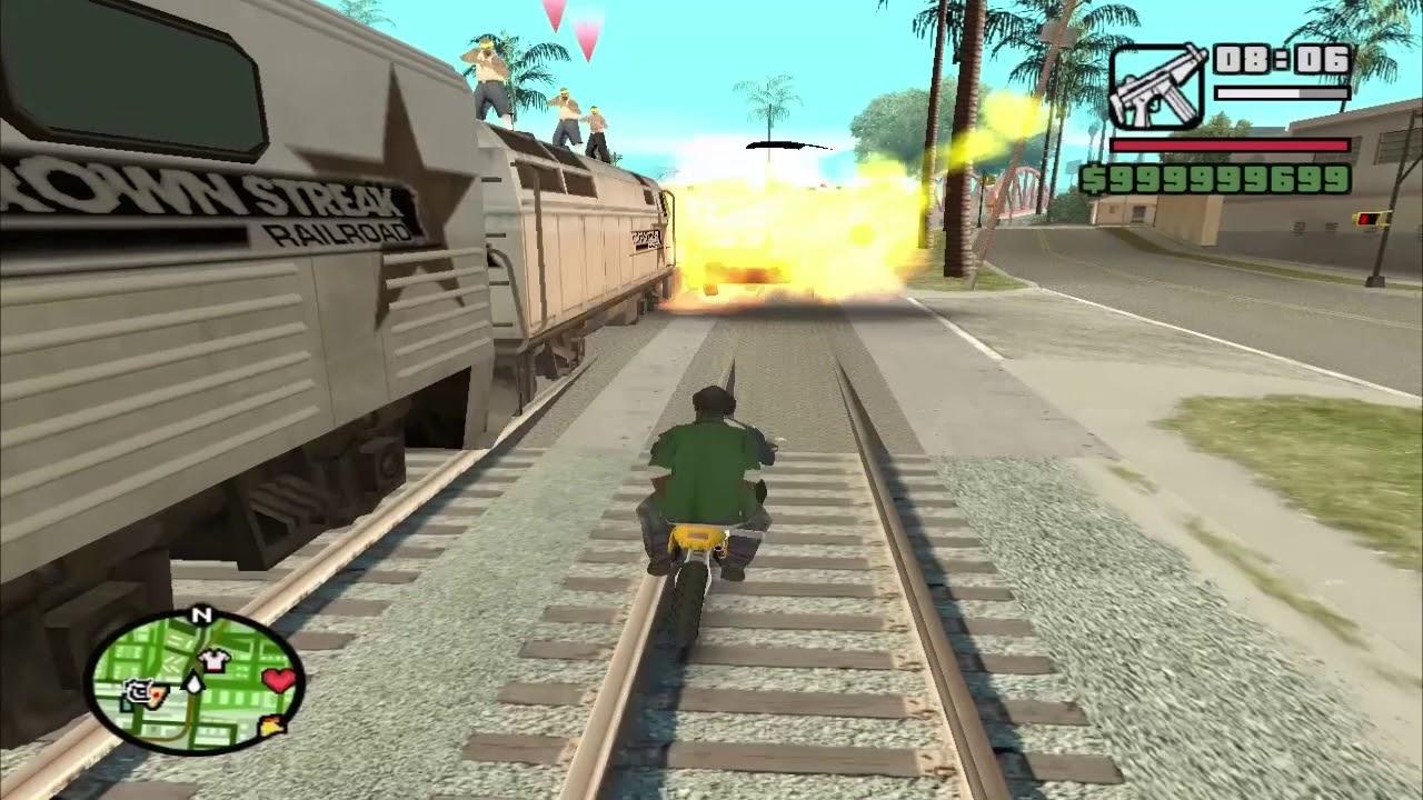Guía Definitiva Para Pasar La Misión Del Tren Gta San Andreas Loquendo Youtube