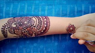 Full Hand Bridal Mehndi Design - Dulhan Mehndi Art by Shimmi