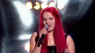 "The Voice of Poland V - Sara Szumilas - ""True Colours"" - Przesłuchania w ciemno"